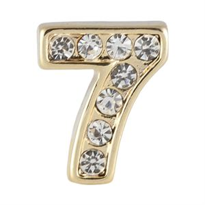 Picture of Gold Number Seven Charm